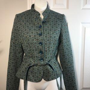 H&M retro-chic blazer with waist tie